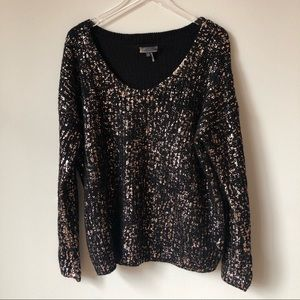 Jeans by Buffalo Rose Gold Speckled Sweater